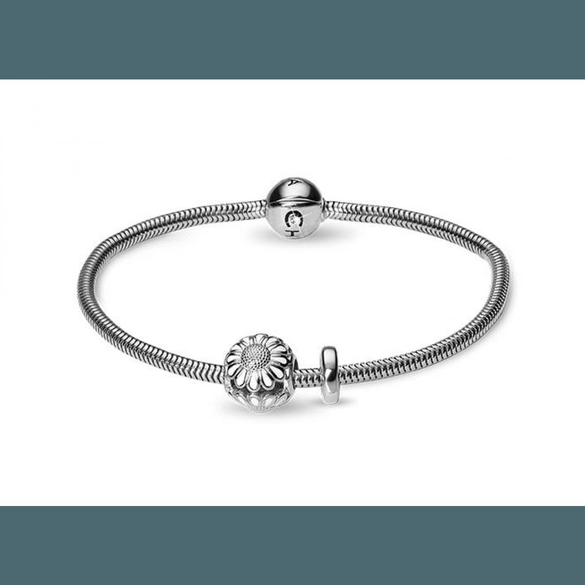Christina Jewelry & Watches kamp. armbånd inkl. sølvcharm + stopper - Christina Jewelry ...